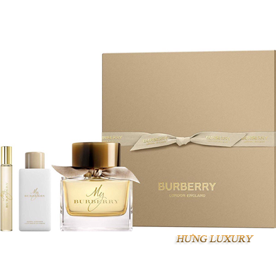Gift Burberry My for women 3pcs
