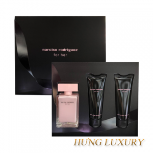 Gift Narciso Rodriguez for her 2018 3pc (NH 50ml + Shower Gel 75ml + Body Lotion 75ml) XMAS